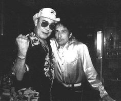 Bob Dylan, Hunter Thompson