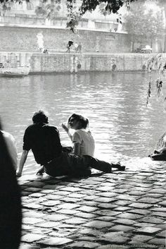 mimbeau: Square du Vert-Galant Paris 1963 Claude Renaud