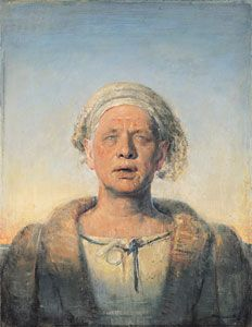 Self-portrait with Melting Eyes (1998) - Odd Nerdrum Paintings - The Nerdrum Institute - Sales, Research & Exhibitions of Odd Nerdrum Works