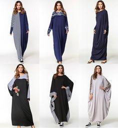 Beautiful Moroccan Dubai Plain Print Kaftan Abaya Jilbab Hijab Muslim Dress Kaftan Abaya, Kaftan Tops, Muslim Dress, E Bay, Online Price, Duster Coat, Kimono Top, Best Deals, Jackets