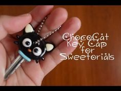 ChocoCat Key Cap: Polymer Clay Tutorial