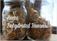 Got extra bananas? Looking for a healthy alternative to candy? Try these chewy dehydrated bananas! These little coins of yumminess are so good!