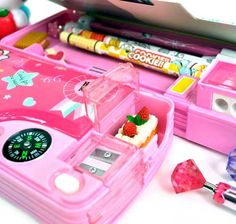 Sweet Hello Kitty Automatic Pencil Boxes