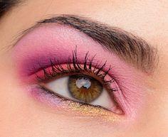 MAC Coral + Purple Look - Temptalia Beauty Blog: Makeup Reviews, Beauty Tips