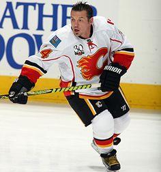 Theoren Fleury - Calgary Flames Born in Oxbow, Saskatchewan