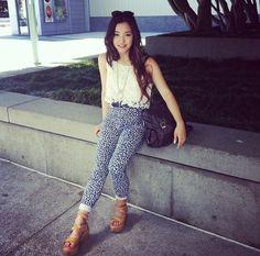 Jenn Im Fashion Wear, Fashion Beauty, Fashion Outfits, Jenn Im, Love Jeans, Dressed To Kill, Edgy Outfits, Asian Fashion, Celebrity Style