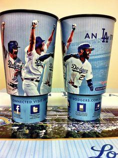 Dodger Souvenir Cups