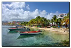 St. Maarten. One of our stops on the Royal Caribbean cruise. It was so beautiful and relaxing!