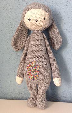 RITA the rabbit made by metavf / crochet pattern by lalylala