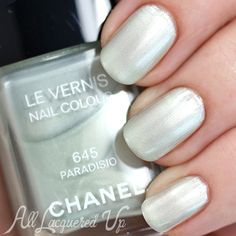 Chanel Paradisio swatch - Spring 2015 via @alllacqueredup #nailcolor #nails #spring