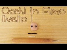 Tutorial Occhi bambole Fimo liv. 1 - Polymer Clay tutorial doll's eyes - YouTube
