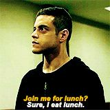 "Or lovably awkward. | 21 Times ""Mr. Robot"" Made You Want To Hug Elliot Alderson"