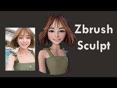 (10) Zbrush Speed Sculpt - Taeri Taeri - YouTube