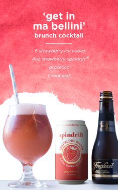 our not so secret recipe within this recipe. spindrift® is made with just sparkling water and real squeezed fruit. yup, that's it. Fancy Drinks, Cocktail Drinks, Cocktail Recipes, Alcoholic Drinks, Drink Recipes, Keto Cocktails, Refreshing Drinks, Summer Drinks, Smoothies