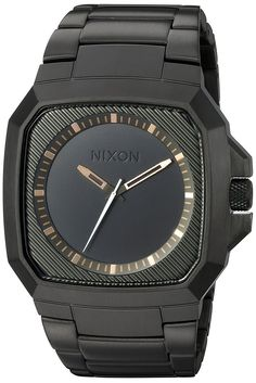 Nixon Deck , Matte Black/Industrial Green Watch * Learn more by visiting the image link.