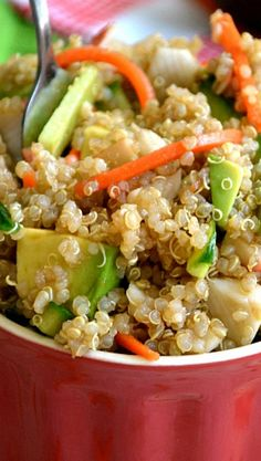 California Roll Quinoa Salad