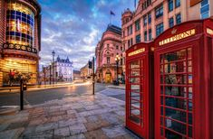 Red Phone boxes at Piccadilly Circus, London, England by Joe Daniel Price on City Wallpaper, Widescreen Wallpaper, London Street, London City, Birmingham, London Telephone Booth, 2560x1440 Wallpaper, Beautiful London, Beautiful Images