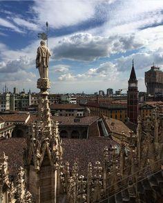 Milan rooftops