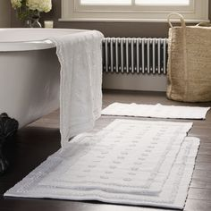 Toulon Bath Mats - Bath Mats | The White Company