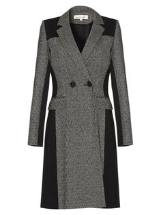 Damsel in a dress Mallow Coat, Black