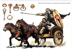 Wayne Reynolds - Carruaje de guerra celta-britano, 1-50 dC.