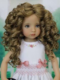 """Monique Wig Size 7-8 for Effner 13"""" Little Darling Dolls"""