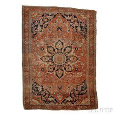 Serapi Carpet | Sale Number 2653B, Lot Number 300 | Skinner Auctioneers