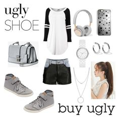 """Ugly shoes"" by jumainakmir ❤ liked on Polyvore featuring Botkier, Teva, Miu Miu, VIPARO, B&O Play, Rianna Phillips, Sophie Buhai, DKNY and uglyshoes"