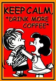 Cool Coffee Quote | Warning: Drinking more coffee may not improve your calm! | #coffee #calm
