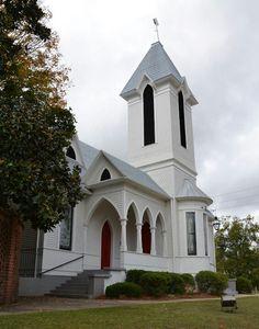 Where I grew up and where I got married!  Ashford Memorial Methodist Church, Watkinsville, GA