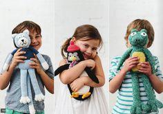 crochet softies from La De Dah Kids
