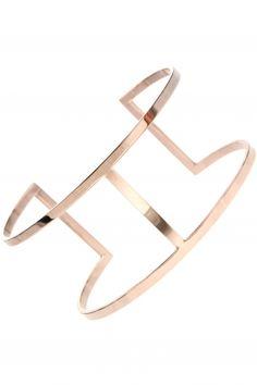 FRAME Armreif rosé vergoldet Jewelry, Bangle, Neck Chain, Gemstone Earrings, Armband, Jewlery, Jewels, Jewerly, Jewelery