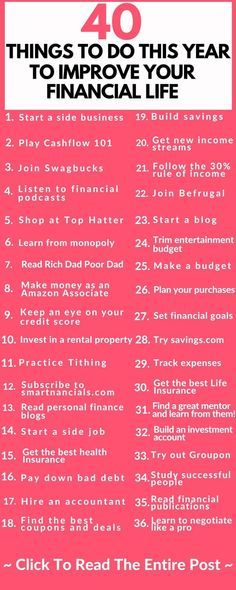 Amazing Ways To Improve Your Finances This Year - SmartNancials - Finance tips, saving money, budgeting planner Financial Peace, Financial Tips, Financial Planning, Financial Assistance, Financial Literacy, Budgeting Finances, Budgeting Tips, Ways To Save Money, Money Saving Tips