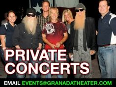 Private Concerts for You and your Peeps at Granada Theater