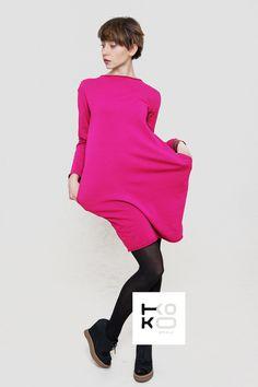 Kleid, Tunika in pink // pink dress by KOKO world via DaWanda.com