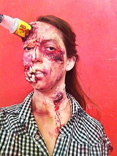 Trabajo Final Maquillaje y Caracterización teatral 1 - Zombie Final Work Theatrical Makeup and Characterization 1 - Zombie