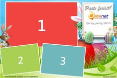 Free Dslrbooth templates for Easter Photobooth Layout, Photobooth Template, Photo Booth, Layout Design, Projects To Try, Elephant, Easter, Templates, Party