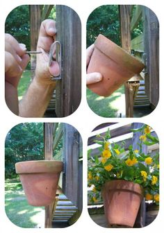 I think this would work well whether hanging on a fence, deck or even…