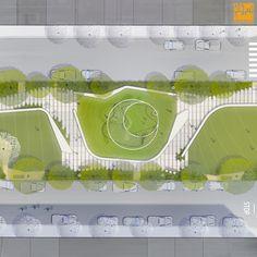 Landscape Plane, Urban Landscape, Rehabilitation Center Architecture, Site Plan Rendering, Paving Pattern, Planer Layout, Project Presentation, Urban Nature, Landscape Architecture Design