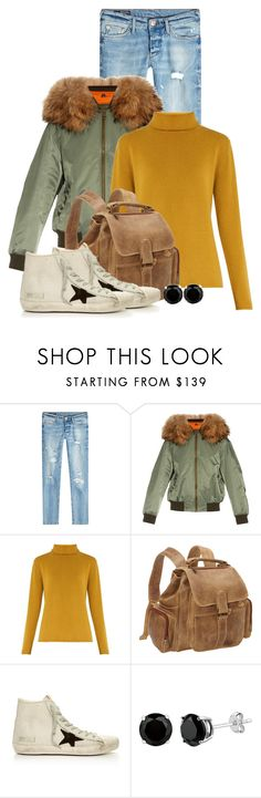 """""""Untitled #1583"""" by linda-olson ❤ liked on Polyvore featuring True Religion, Mr & Mrs Italy, Chloé, Le Donne and Golden Goose"""