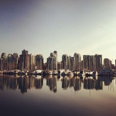 Vancouver BC what a gorgeous city Vancouver, New York Skyline, Canada, City, Places, Travel, Trips, Traveling, Cities