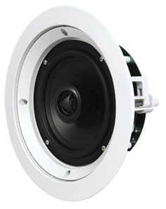 SpeakerCraft CRS6 Zero 6 Inch Custom Round Series In-Ceiling Loudspeaker - Each