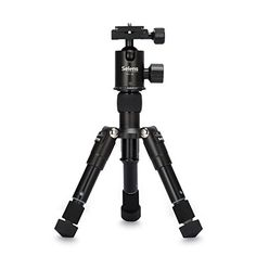 Introducing Selens SETmini 182in Portable Camera Tripod with Ballhead and Protect Bag for Canon Nikon Sony Samsung Panasonic Olympuskodak Fuji Cameras and Camcorders Black. Great product and follow us for more updates!