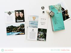 Project Life by Jen Carlson Project Life Travel, Project Life 6x8, Project Life Scrapbook, Mini Scrapbook Albums, Mini Albums, Scrapbook Pages, Scrapbooking Ideas, Creative Inspiration, Life Inspiration