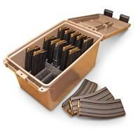 Tactical Magazine Can, .223 / 5.56 Calibers, Holds 15 Loaded 30 Round Magazines