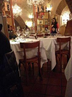 "Rome. 5 star reviews on Tripadvisor ""Great, small restaurant near Spanish Steps"" Review of Il Gabriello Rome Restaurants, Trip Advisor, Spanish, Table Settings, Star, Rome, Italia, Spanish Language, Place Settings"