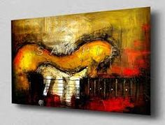 images of guitars in art - Google Search