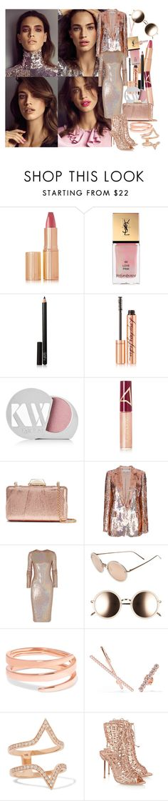 """""""Perfect Party Dress"""" by brownish ❤ liked on Polyvore featuring Charlotte Tilbury, Yves Saint Laurent, NARS Cosmetics, Kjaer Weis, Wander Beauty, KOTUR, STELLA McCARTNEY, Givenchy, Linda Farrow and Anita Ko"""