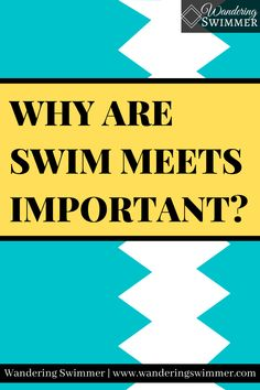 Swim meets can be stressful but they can also be fun. Despite their frustrations, swim meets are important to a swimmer's development. Swim Meet, Swimming, Swim