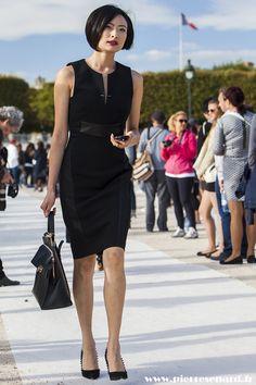 Street Style : Paris Fashion Week Spring 2015 by @pierresenard  #PFW
